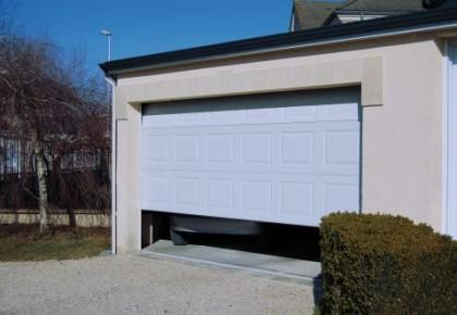 Puertas garaje seccionales de aluminio