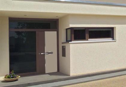 Puertas de exterior de aluminio