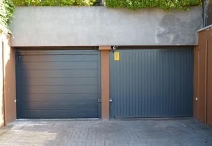 Puertas de garaje seccionales en Sevilla