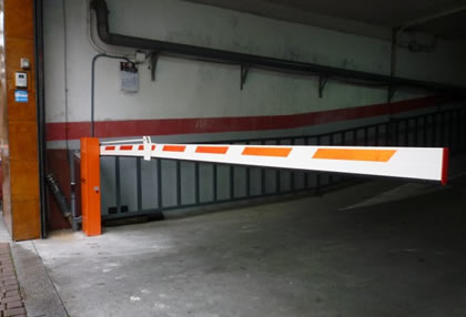 Barreras automáticas en Madrid