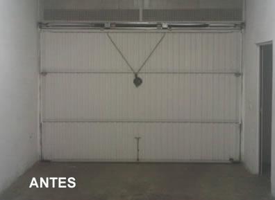 Puertas de garaje en Torres de la Alameda