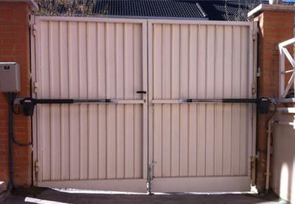 Puertas seccionales Fuenlabrada