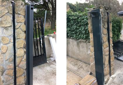 Puerta corredera en Illescas