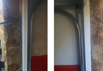 Puerta seccional Seseña
