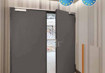 Puertas exteriores con protección cortafuego
